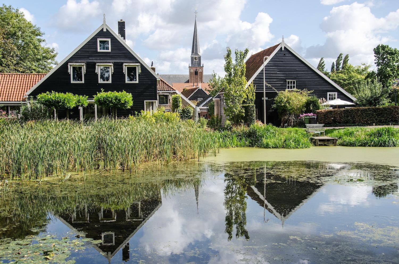 oude dorpskern Geervliet Voorne-Putten nabij Rotterdam