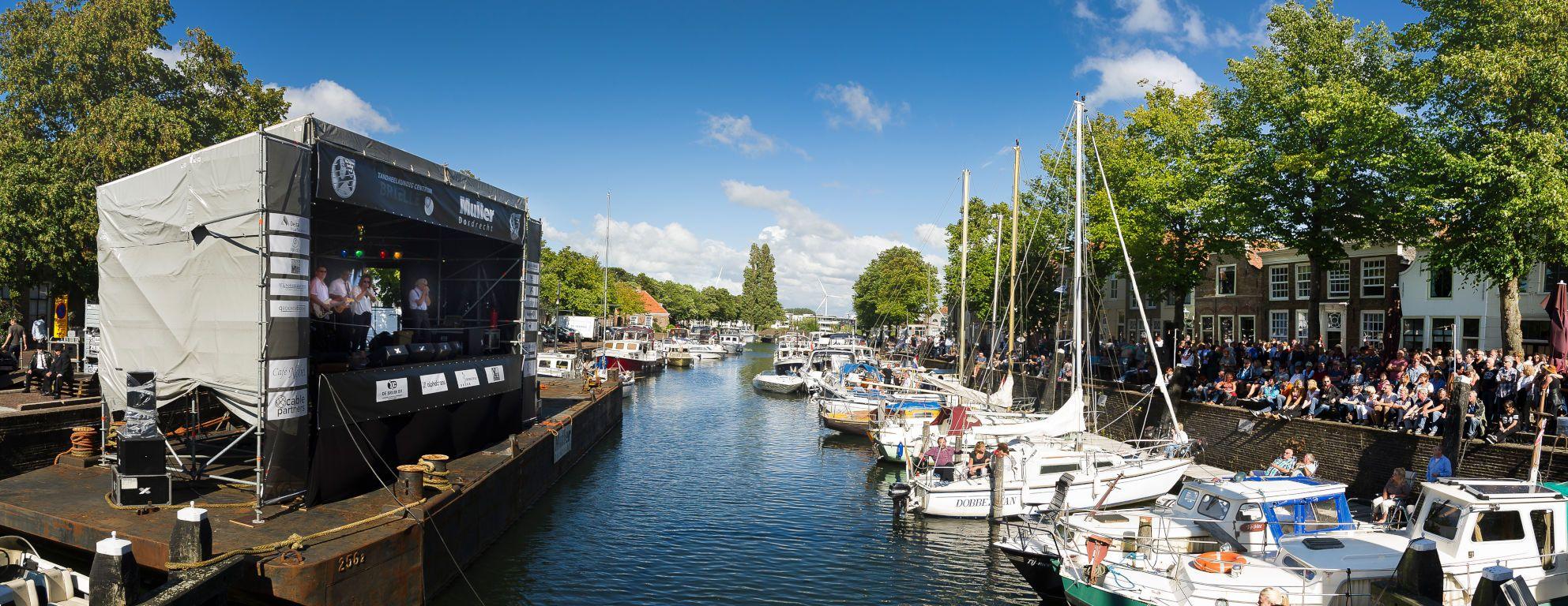 cultuur Brielle Voorne-Putten nabij Rotterdam