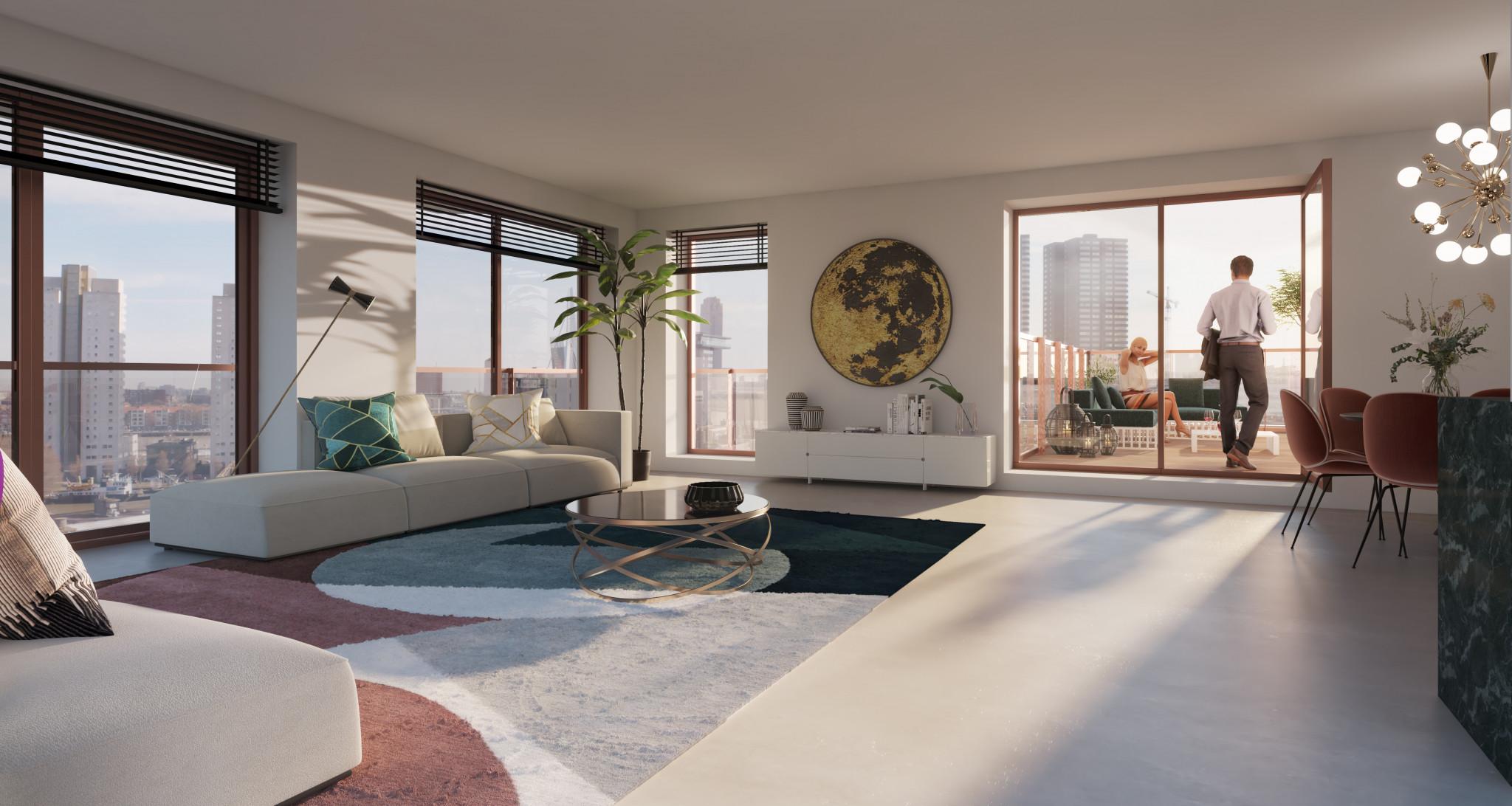 Downtown-apartments-nieuwbouw-centrum-rotterdam