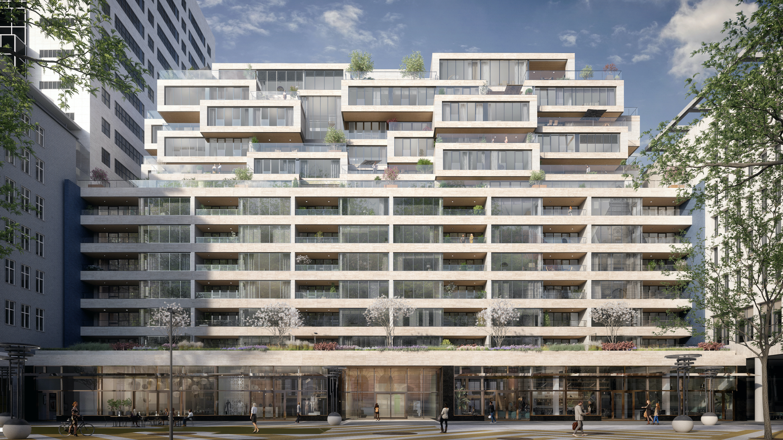 Nº 75 Coolsingel nieuwbouw wonen centrum Rotterdam