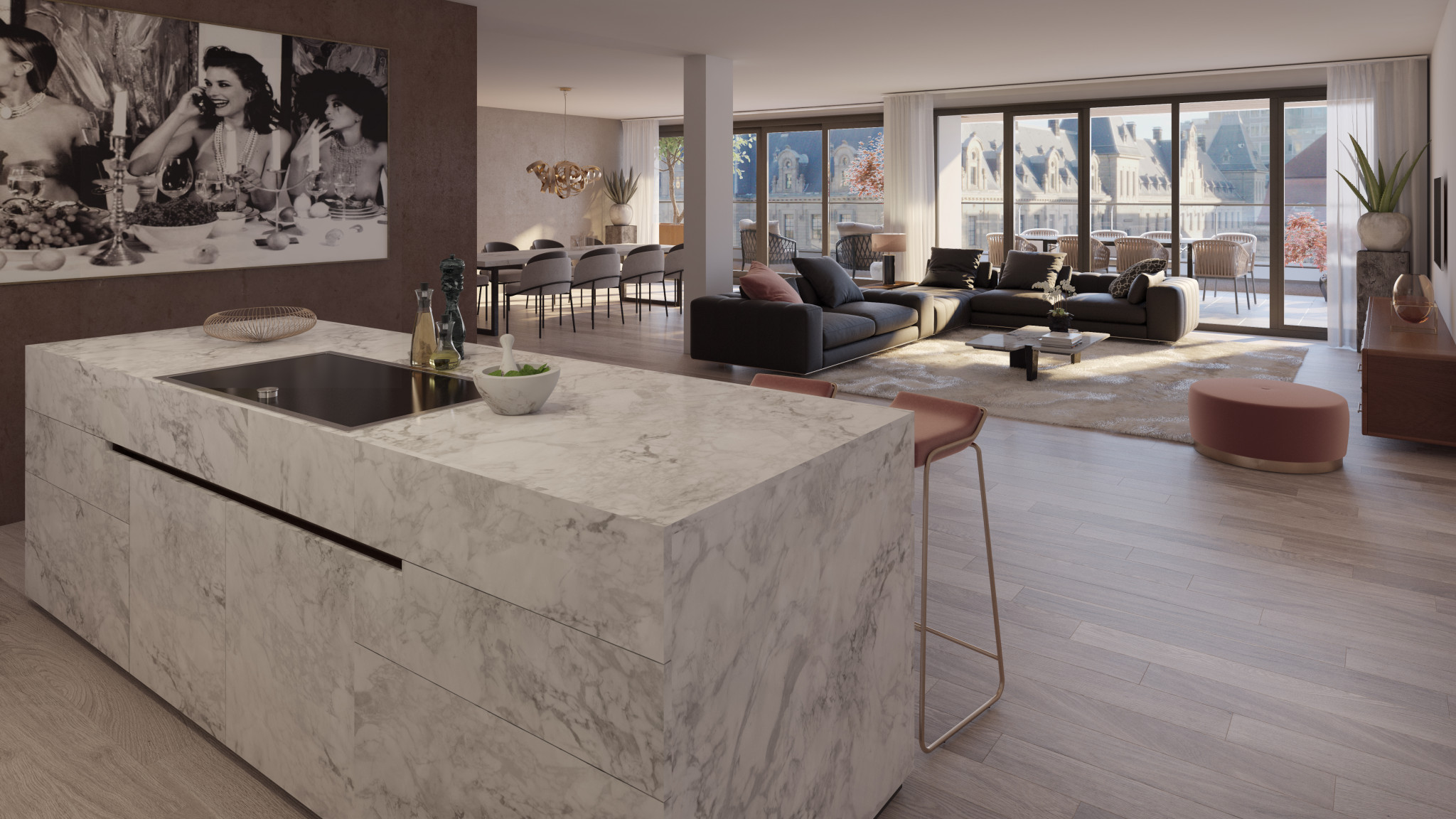 Nº 75 Coolsingel wonen nieuwbouw centrum Rotterdam