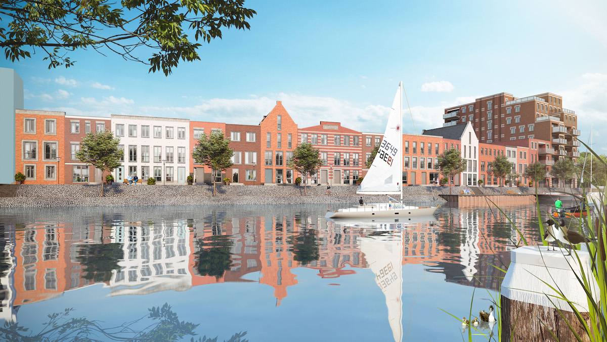 nieuwbouw-veerkade-haven-spijkenisse-wonen-water