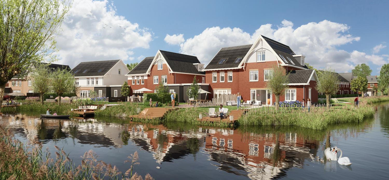 nieuwbouwhuizen Wilgenrijk Maassluis